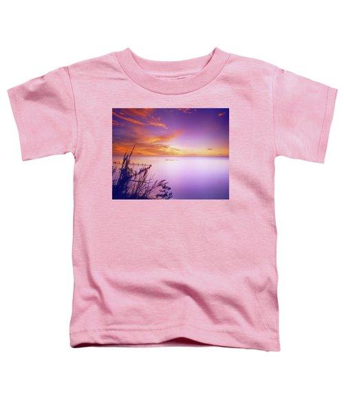 Dusk At Waterloo, Trinidad Toddler T-Shirt