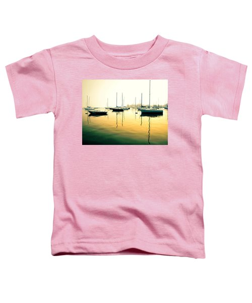 Early Mornings At The Harbour Toddler T-Shirt