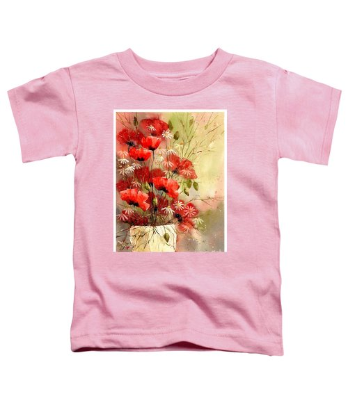 Everything About Poppies IIi Toddler T-Shirt
