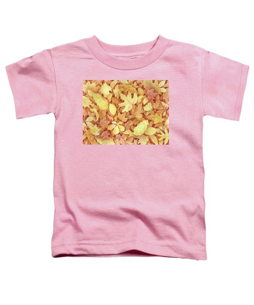 Fallen Leaves Toddler T-Shirt