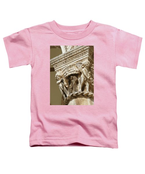 Figures On Capitals Of The Rector's Palace Toddler T-Shirt