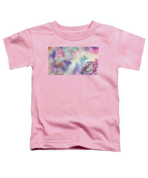 Flower Of Life Toddler T-Shirt