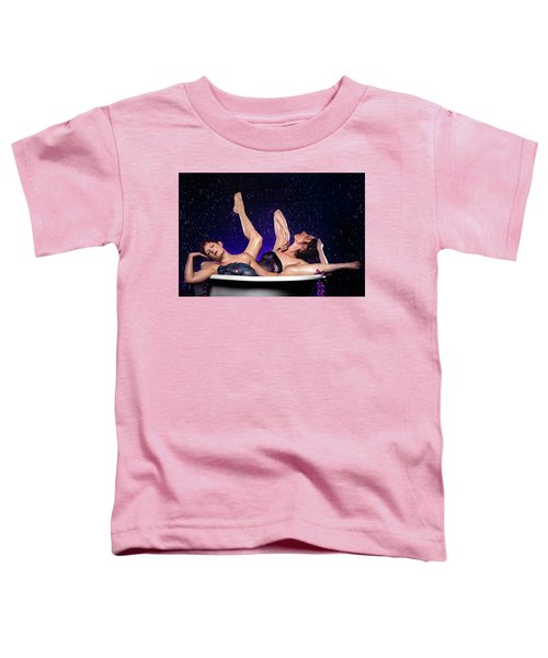 Achelois And Sister Bathing In The Galaxy Toddler T-Shirt