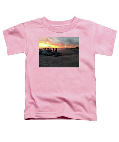 Fort Moultrie Sunset Toddler T-Shirt