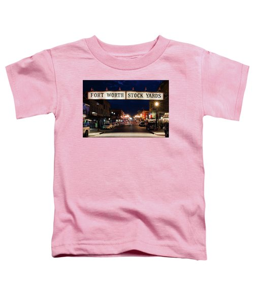 Fort Worth Stock Yards 112318 Toddler T-Shirt