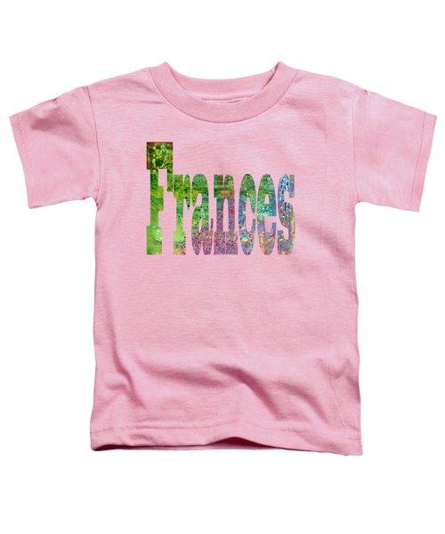 Frances Toddler T-Shirt