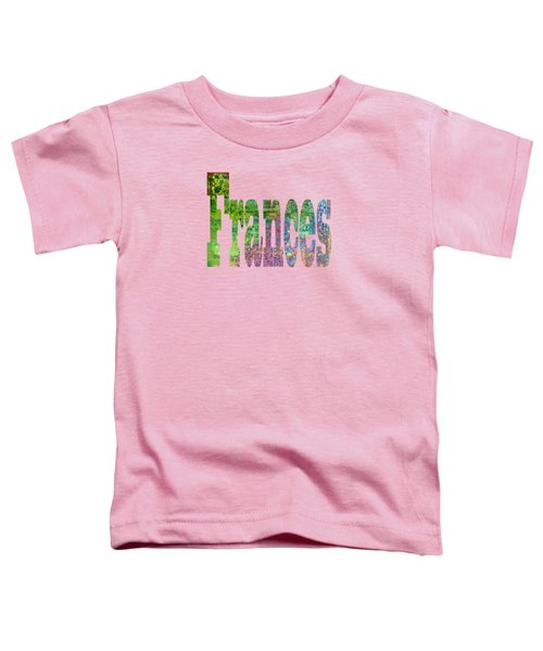 Frances Toddler T-Shirt