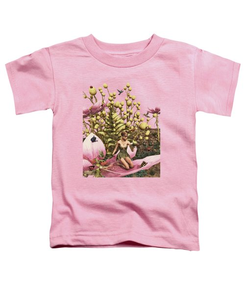 Garden Fairy Sunrise Toddler T-Shirt