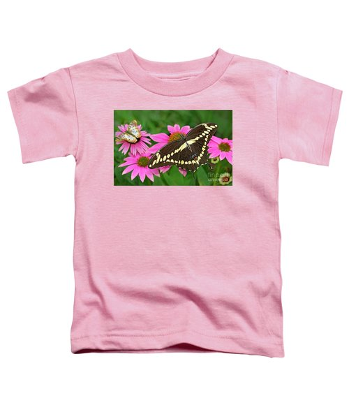 Giant Swallowtail Papilo Cresphontes Toddler T-Shirt