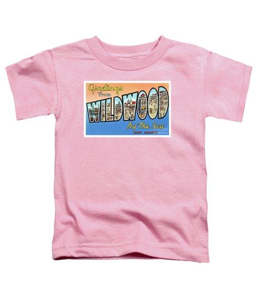 Wildwood Greetings - Version 4 Toddler T-Shirt