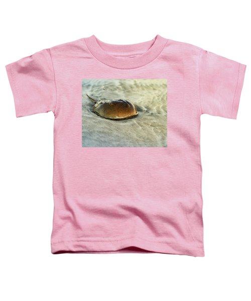 Horseshoe Crab On The Beach Toddler T-Shirt