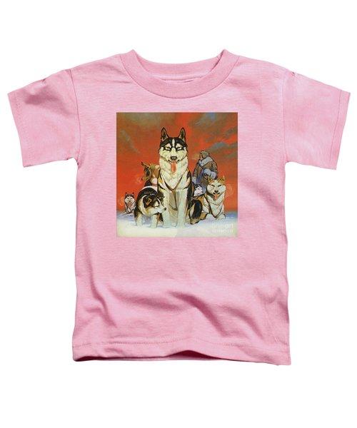Huskies Toddler T-Shirt