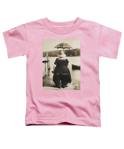 It Floats - Version 1 Toddler T-Shirt