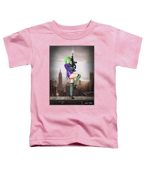 Joker Is Wild Toddler T-Shirt