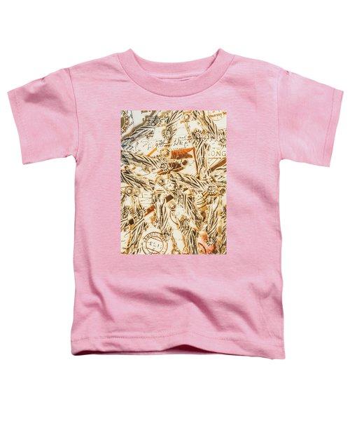 Landmarks And Postmarks Toddler T-Shirt