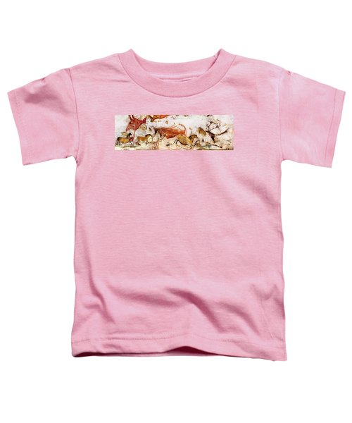 Lascaux Cows Horses And Deer Toddler T-Shirt