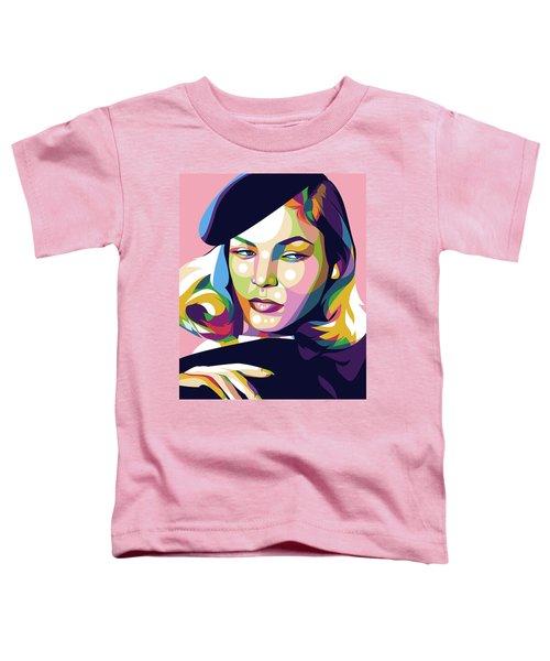 Lauren Bacall Toddler T-Shirt