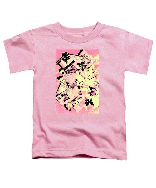 Letter Nests Toddler T-Shirt