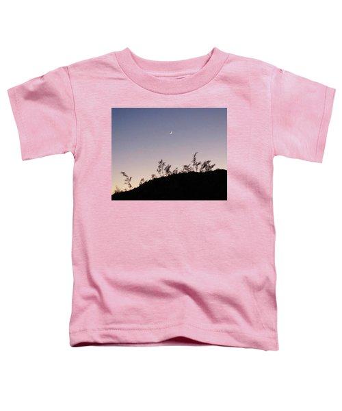 Libra Twilight Crescent Toddler T-Shirt