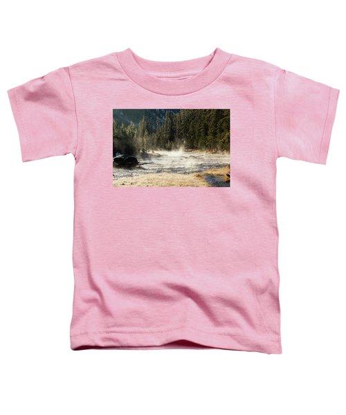 Madison River Morning Toddler T-Shirt