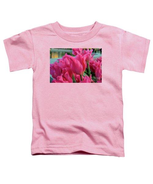 Magenta Scene Toddler T-Shirt