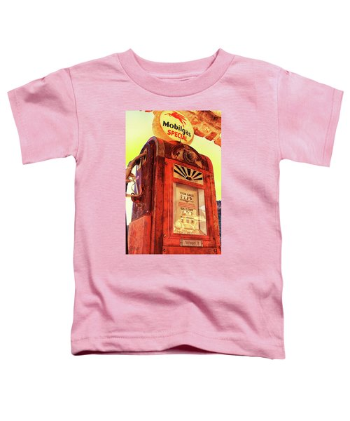 Mobilgas Special - Vintage Wayne Pump Toddler T-Shirt
