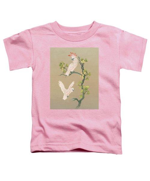 Moluccan Cockatoos  Toddler T-Shirt