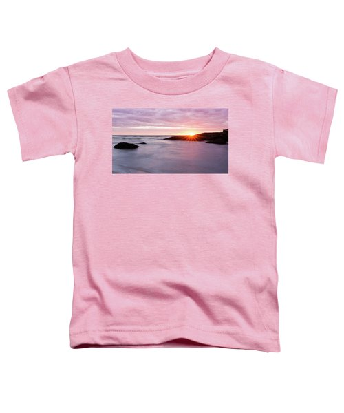 Morning Sun Good Harbor Toddler T-Shirt