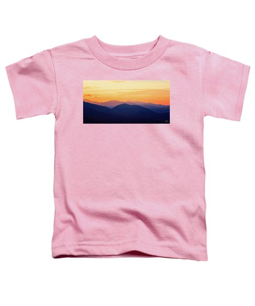 Mountain Light And Silhouette  Toddler T-Shirt