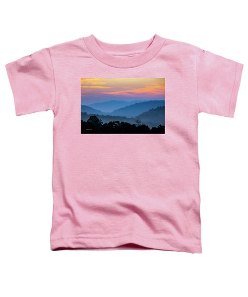 Mountain Tide Toddler T-Shirt