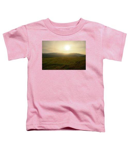 Mountains At Dawn Toddler T-Shirt