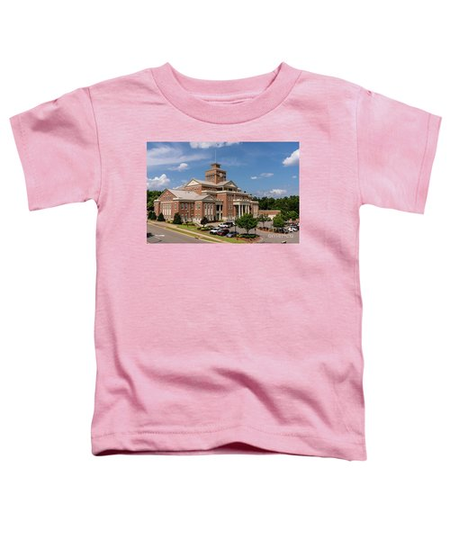 Municipal Building - North Augusta Sc Toddler T-Shirt