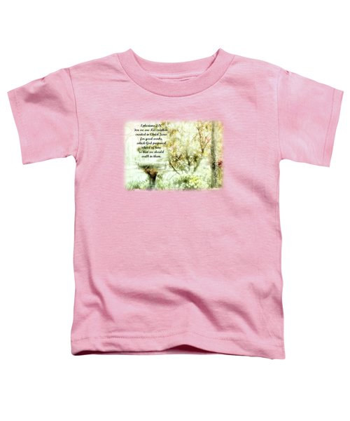 My Cup Overflows 2 - Verse Toddler T-Shirt