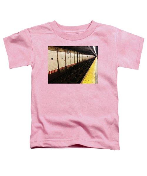 New York City Subway Line Toddler T-Shirt