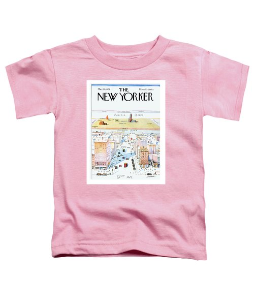 New Yorker March 29, 1976 Toddler T-Shirt