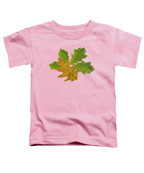 Oak Leaves Pattern Toddler T-Shirt