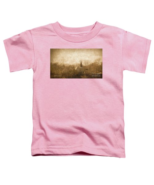 Old Church On A Hill  Toddler T-Shirt