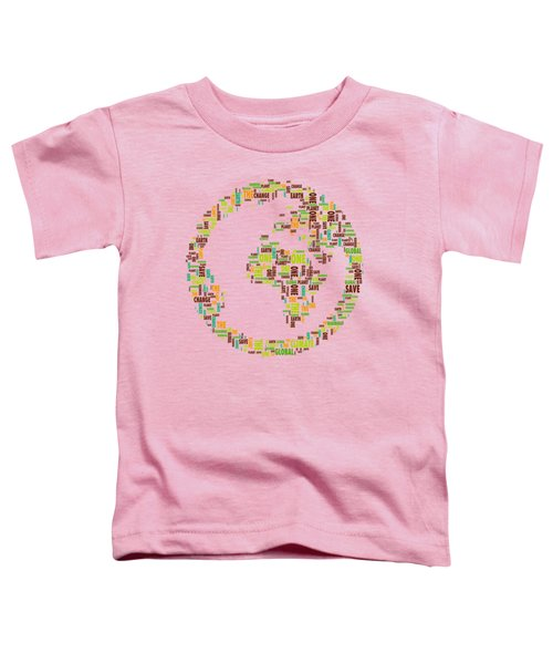 One Planet Toddler T-Shirt