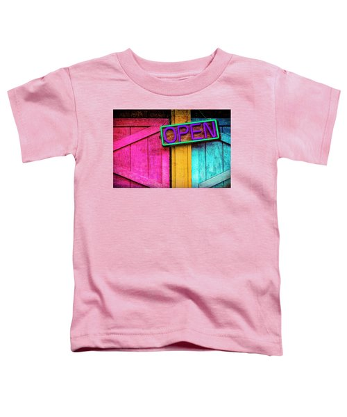 Open Toddler T-Shirt