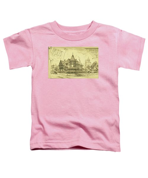 Pair Of Twin Cottages, Hastings Square, Spring Lake, Nj Toddler T-Shirt