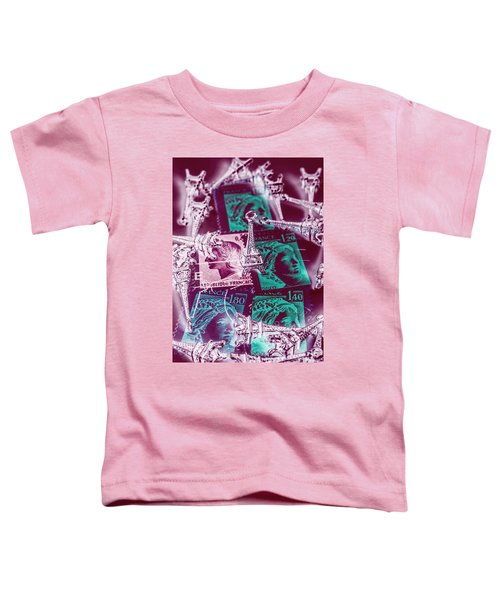 Parisian Postmarks Toddler T-Shirt