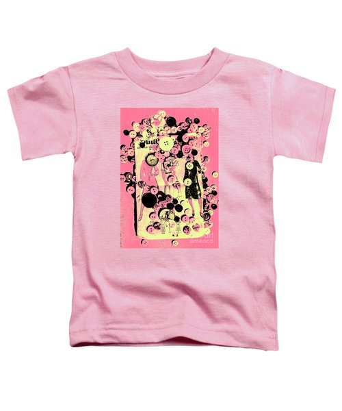Past Patterns And Bygone Buttons Toddler T-Shirt