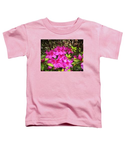Pink Outside Toddler T-Shirt