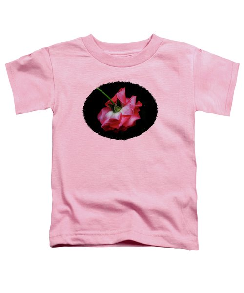 Pink Rose Takes A Bow Toddler T-Shirt