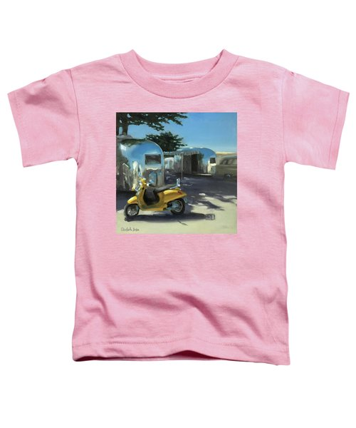 Pismo Vintage Rally Toddler T-Shirt