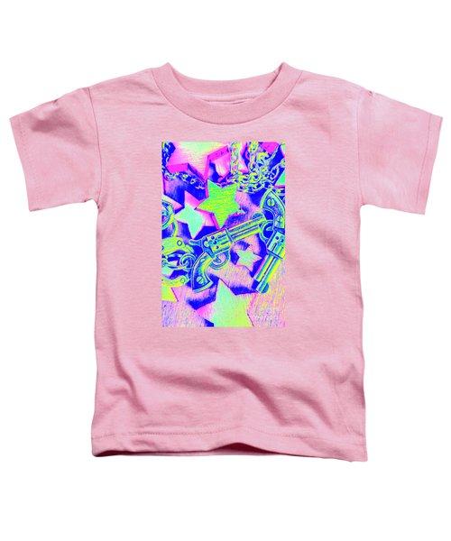 Pop Art Police Toddler T-Shirt
