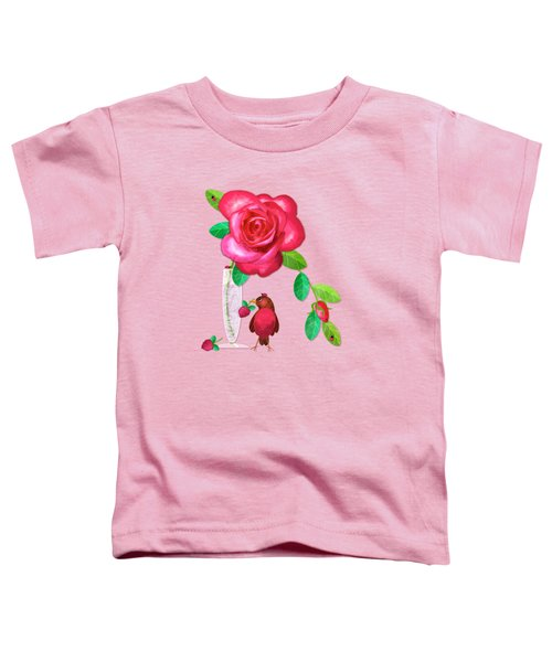 R Is For Rose And Robin Toddler T-Shirt