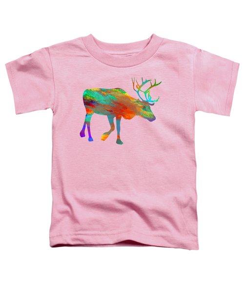 Reindeer Wall Art Toddler T-Shirt