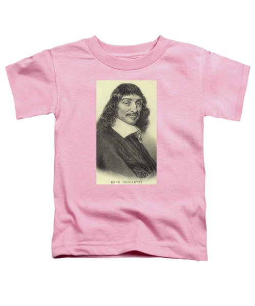 Rene Descartes, French Philosopher, Mathematician And Writer Toddler T-Shirt