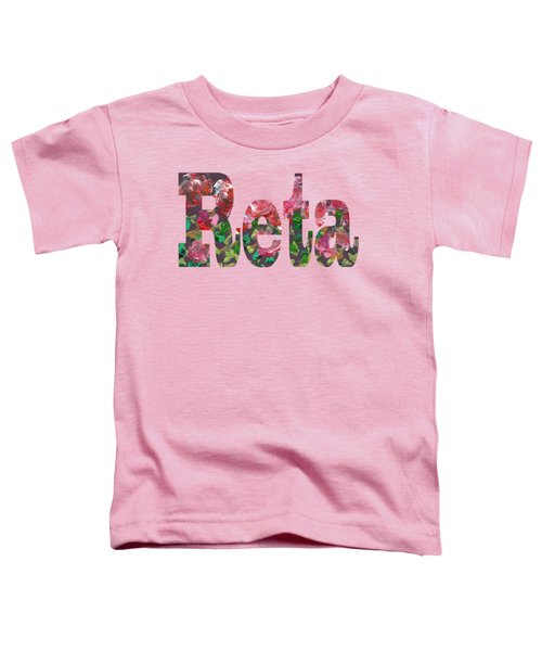 Reta Toddler T-Shirt